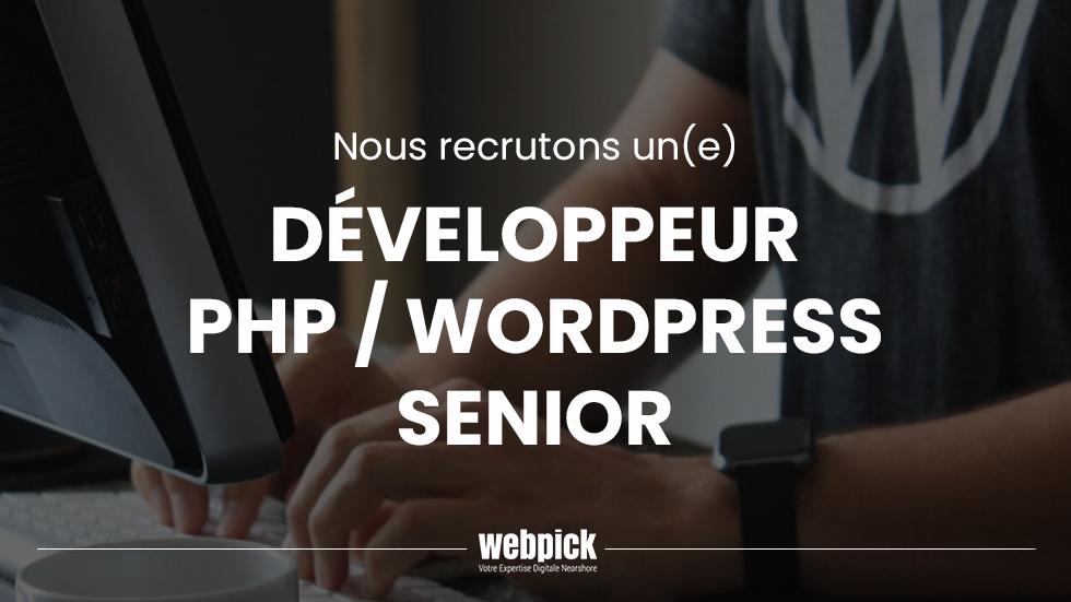 Dév PHP WordPress Senior