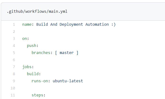 Automatiser avec Github Actions 4 - Webpick