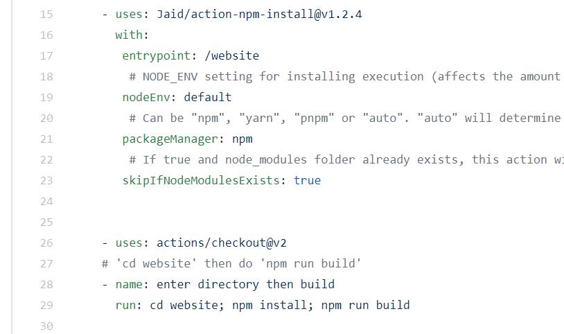Automatiser avec Github Actions 6 - Webpick