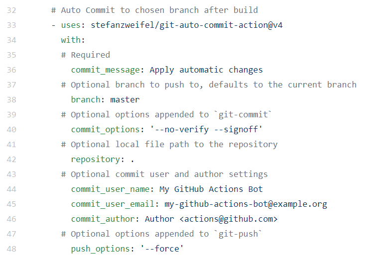 Automatiser avec Github Actions 8 - Webpick