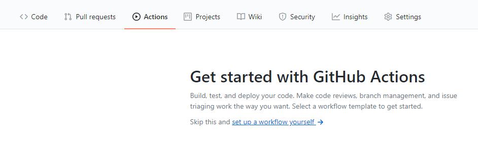 Automatiser avec Github Actions 2 - Webpick