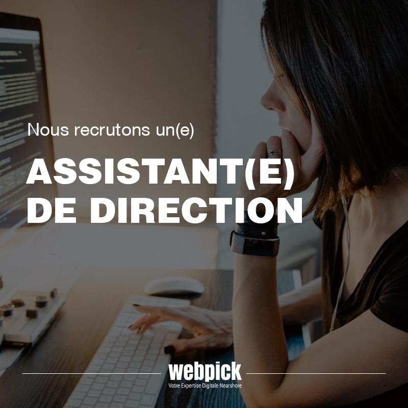 Assistant(e) de Direction – Recrutement