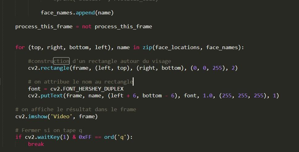 La Reconnaissance Faciale avec Python 15 - Webpick