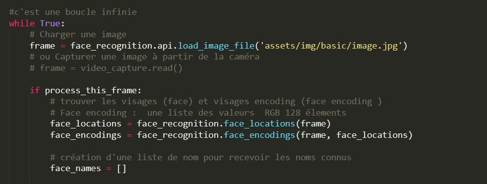 La Reconnaissance Faciale avec Python 11 - Webpick