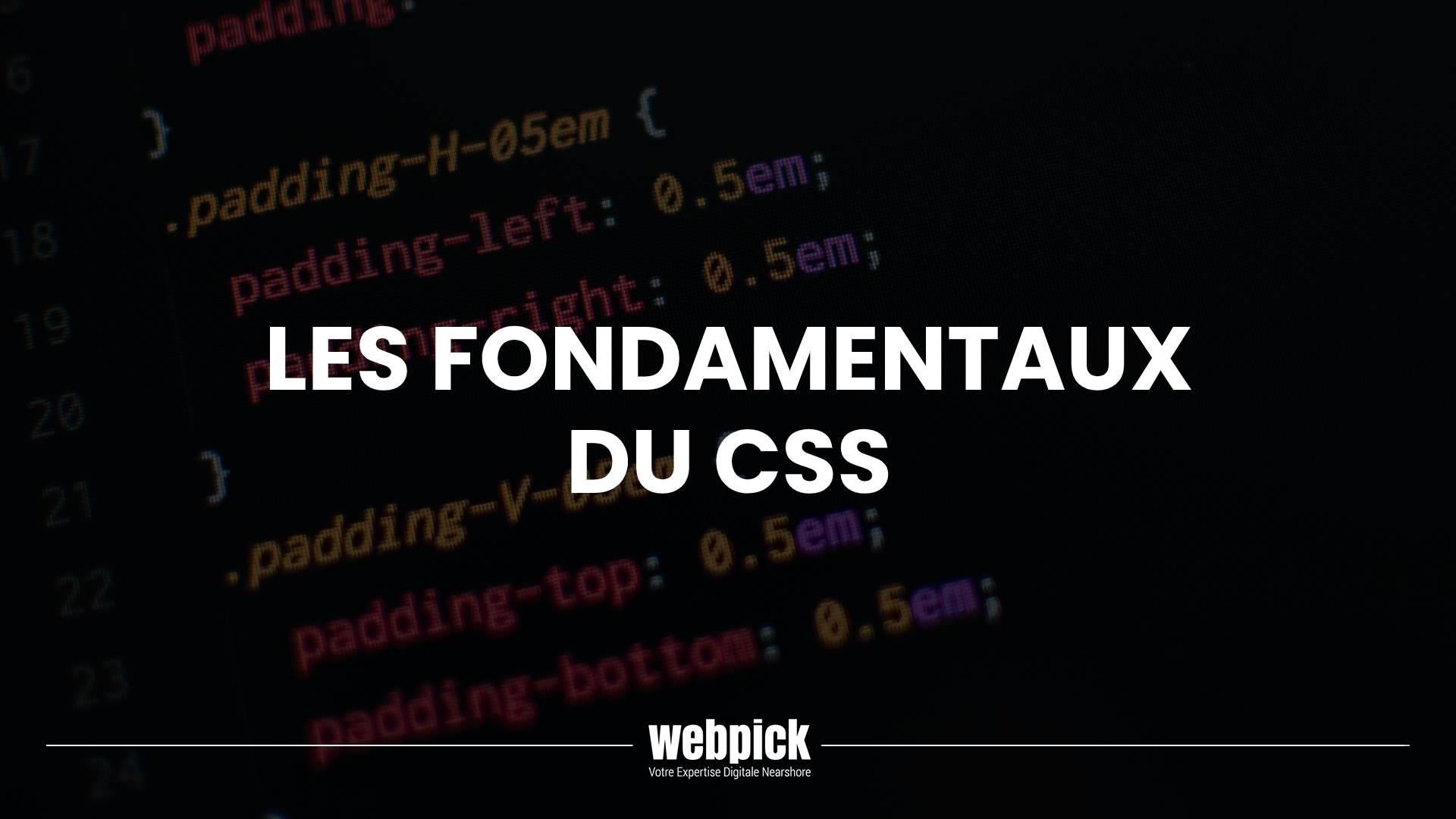 Les Fondamentaux du CSS