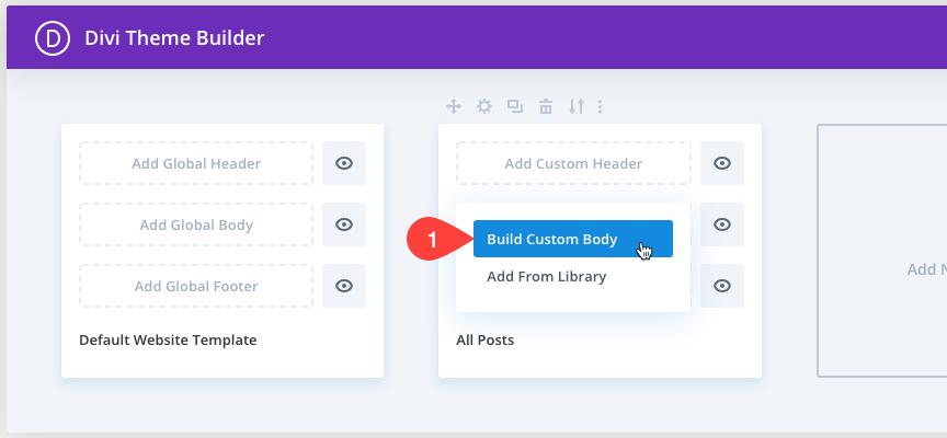 Personnaliser les pages d'articles - Divi 7 - Webpick
