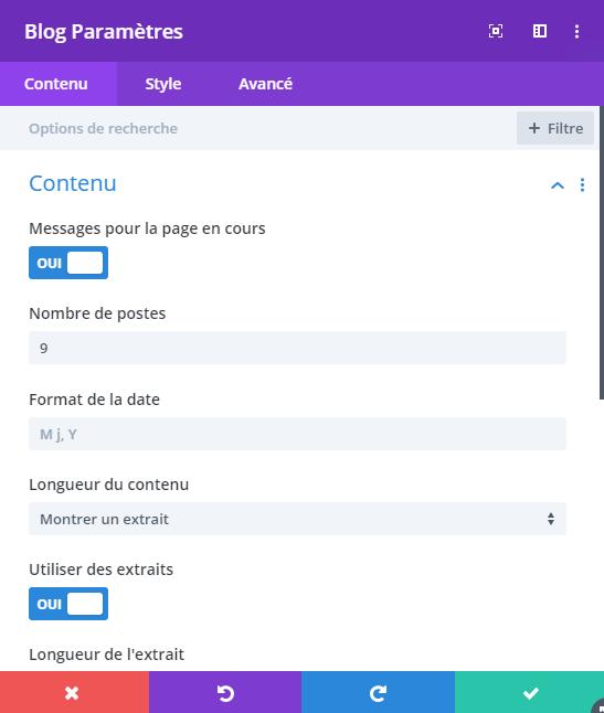 Personnaliser une catégorie - Divi 1 - Webpick