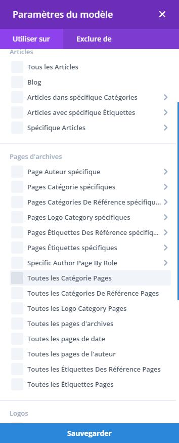 Personnaliser une catégorie - Divi 7 - Webpick
