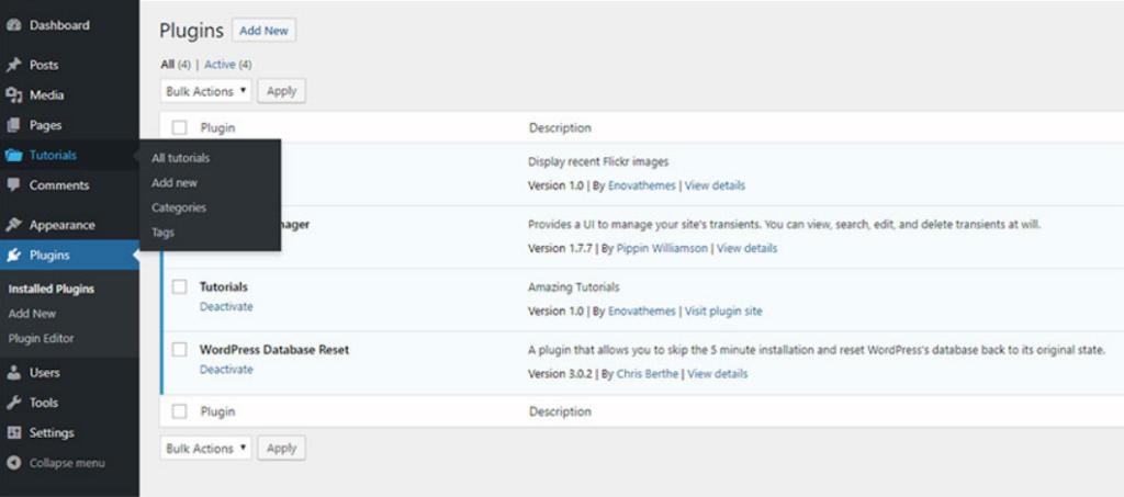Le Guide de l'API WordPress 2 - Webpick