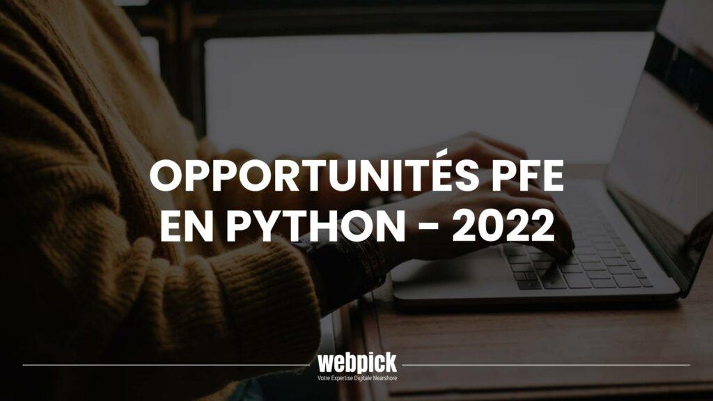 Stage Python PFE 2022